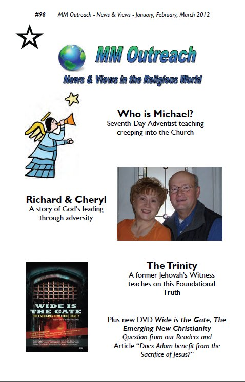 MM Outreach News & Views #98 on Women in Ministry blog by Cheryl Schatz